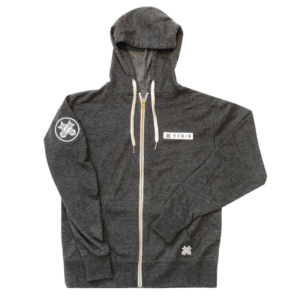Insignia Hooded Zip Up Sweatshirt