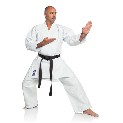 Ronin Brand Shiai Brushed Karate Gi -Blue Label - 11 oz.