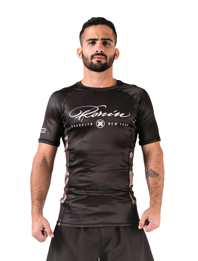 Signature Short Sleeve Rash Guard Compression Shirt