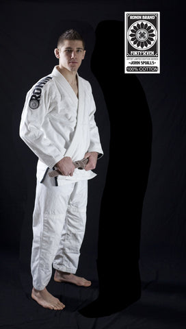 Ronin 47 Bjj Gi in White