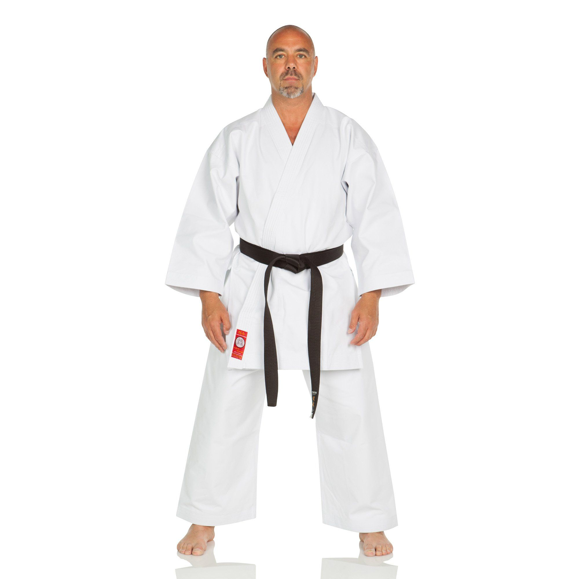 Ronin Brand Shiai Red label Brushed 14oz  Japanese Cut Karate Gi