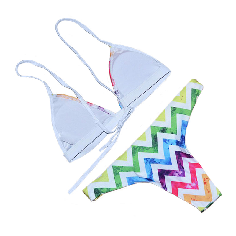 Rainbow Bikini - Splash of colors on your perfect body!