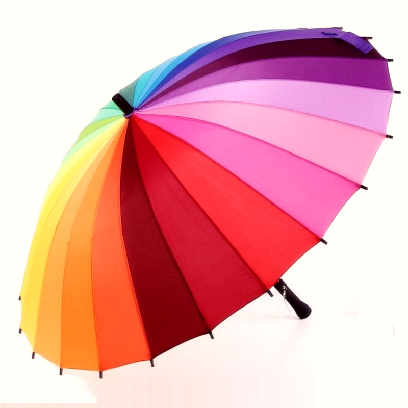The Rainbow Umbrella