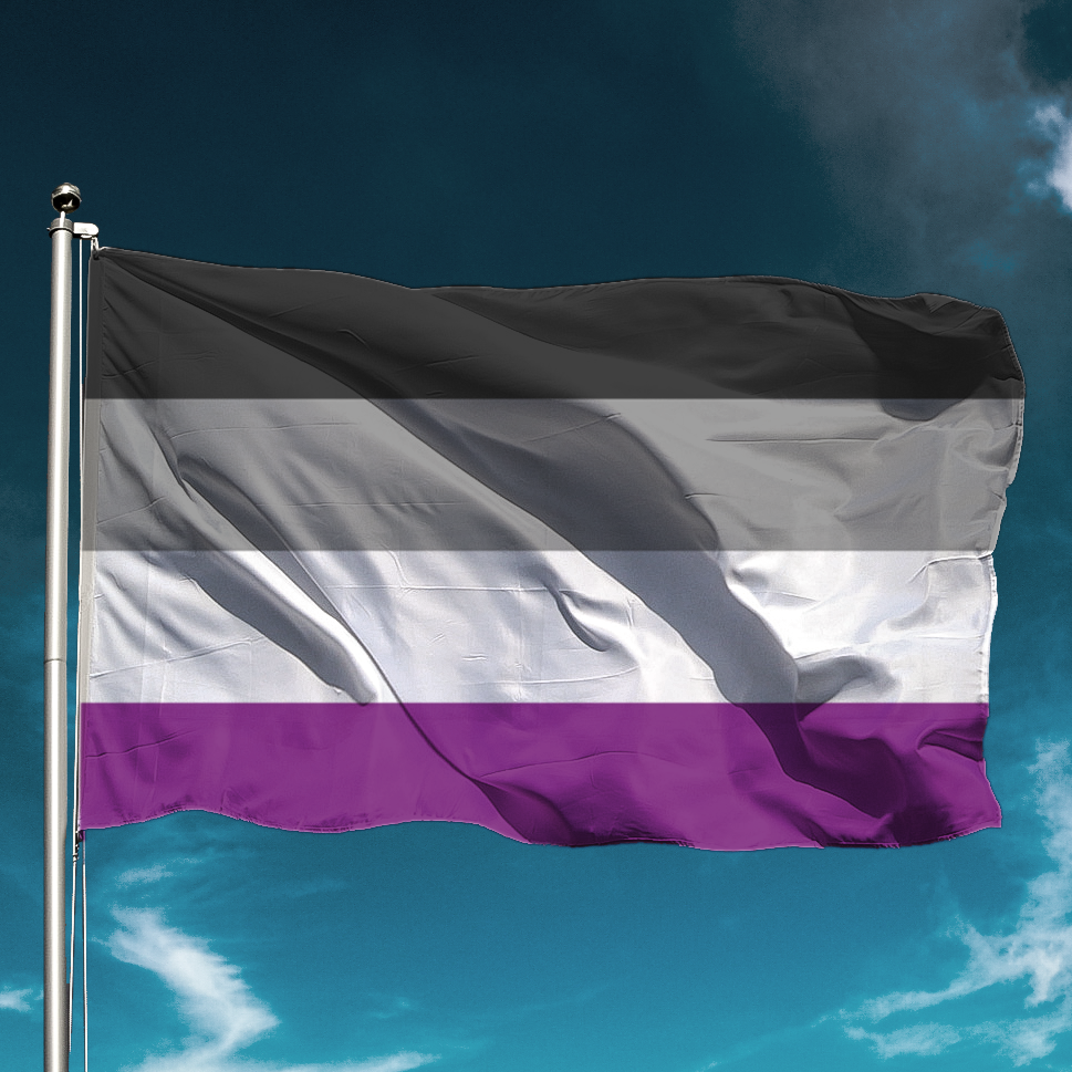 Asexual Flag for Gay Pride
