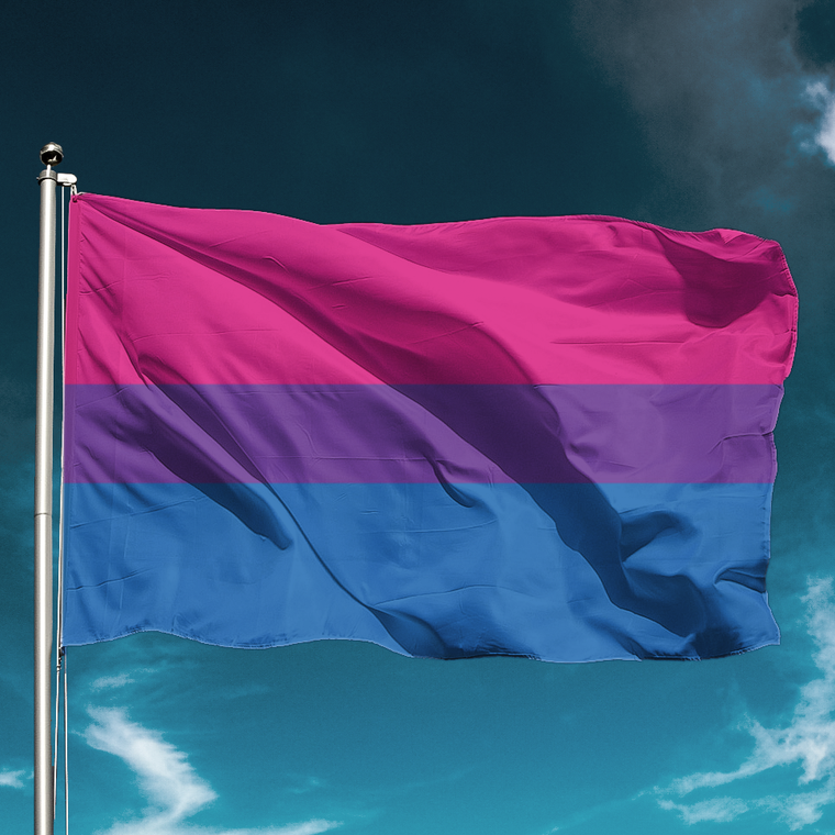 Bisexual Flag for Gay Pride
