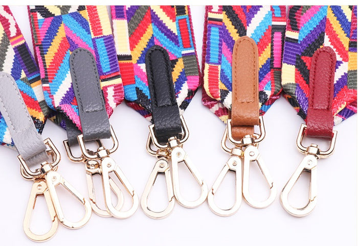 Hand Bag Rainbow Shoulder Strap Belt