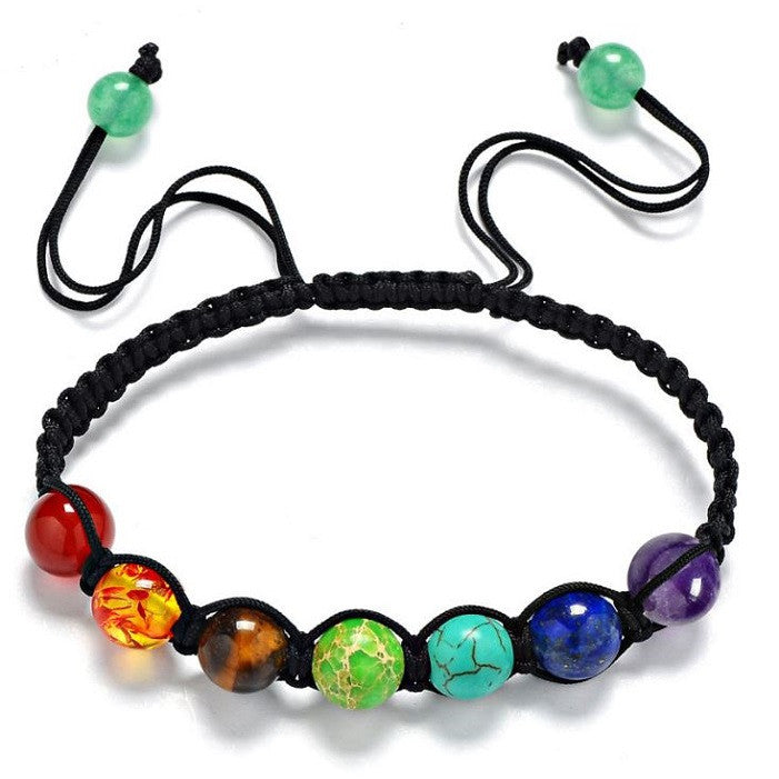 Adjustable Rainbow Bracelet