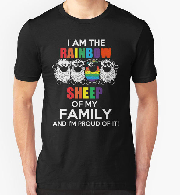 Rainbow Sheep T Shirt