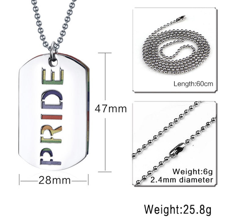 rainbow pride jewelry