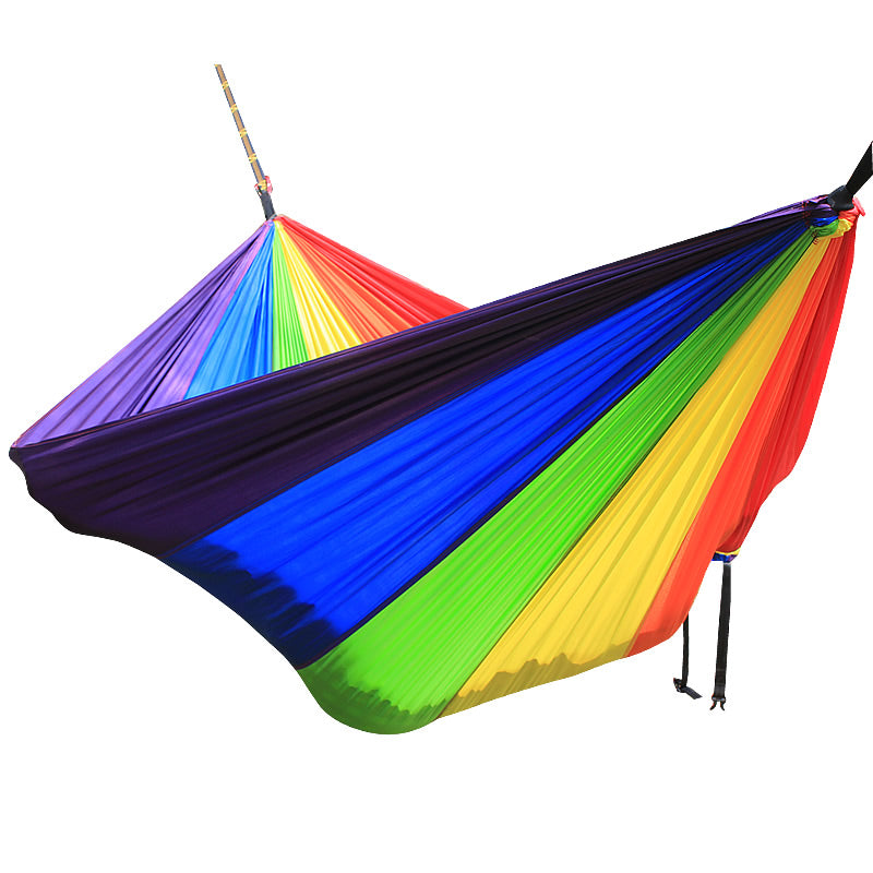 Rainbow Double Person Use Hammock