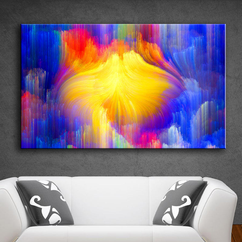 Rainbow Canvas Oil Wall Painting 3