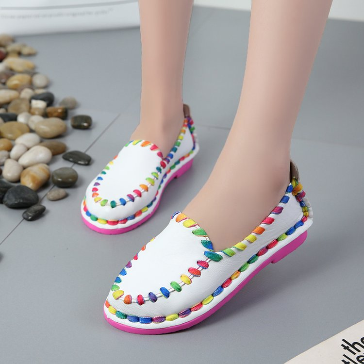 Soft Flats Rainbow Slipon Loafers