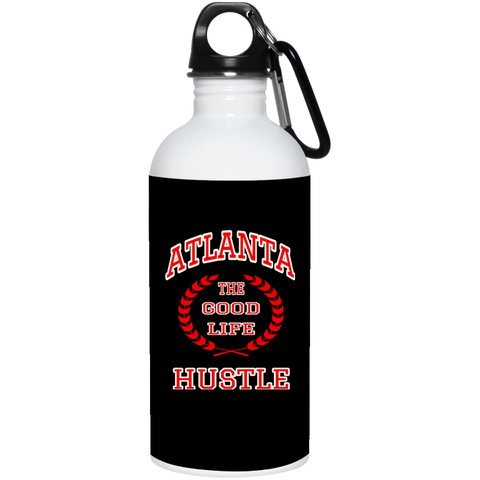 Atlanta The Good Life Hustle Stainless Steel Water Bottle 20 oz