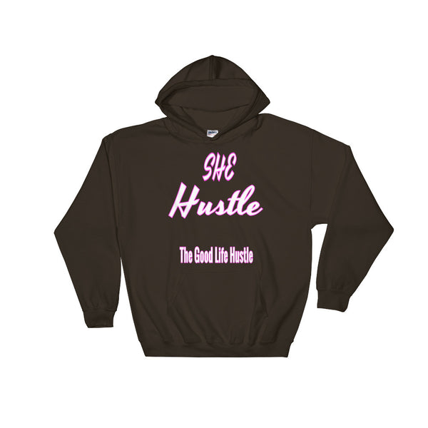 She Hustle Hooded Sweatshirt - The Good Life Hustle Hoodie  - 2