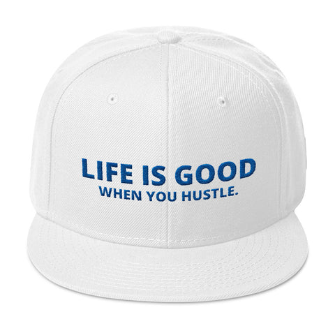 Life Is Good Hat - When You Hustle, The Good Life Hustle,