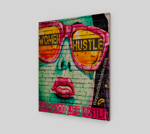 Women Hustle Wall Art