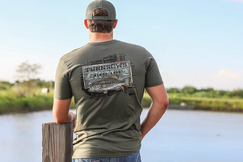Fishing Sign men's t-shirt