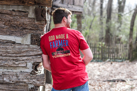 God Made a Farmer t-shirt