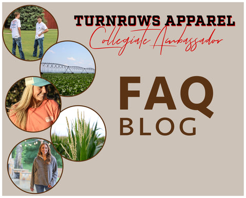 Turnrows Apparel Collegiate Ambassador Program