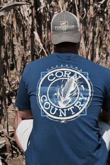Corn Country T-Shirt. Turnrows Apparel.