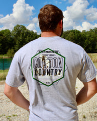 Cotton Country turnrows apparel t-shirt