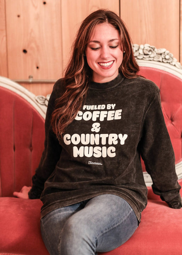 Coffee and Country Music Comfy Cord