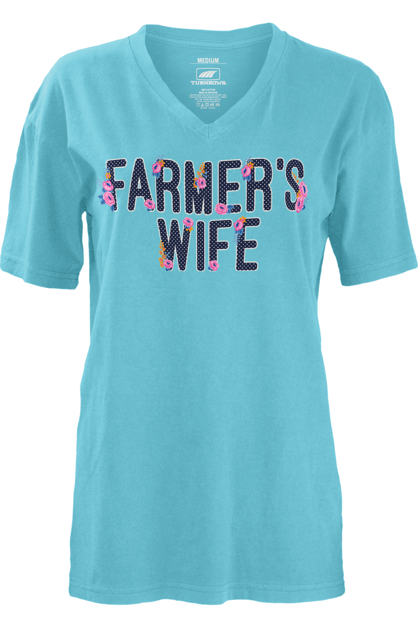 Farmer's Wife V Neck shirt