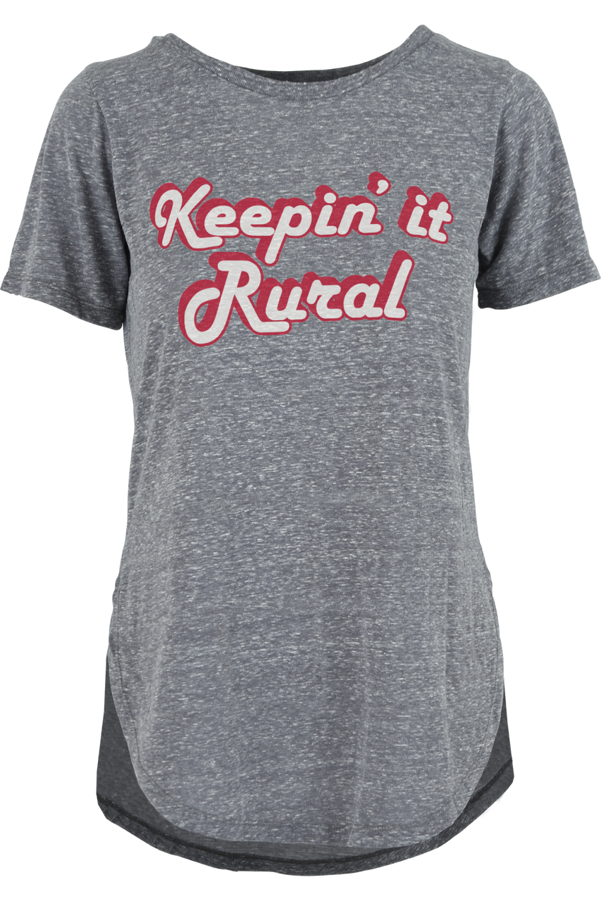 Keeping it Rural Rural living womens fashion t-shirt