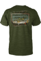 Fishing t-shirt men's fishing tee