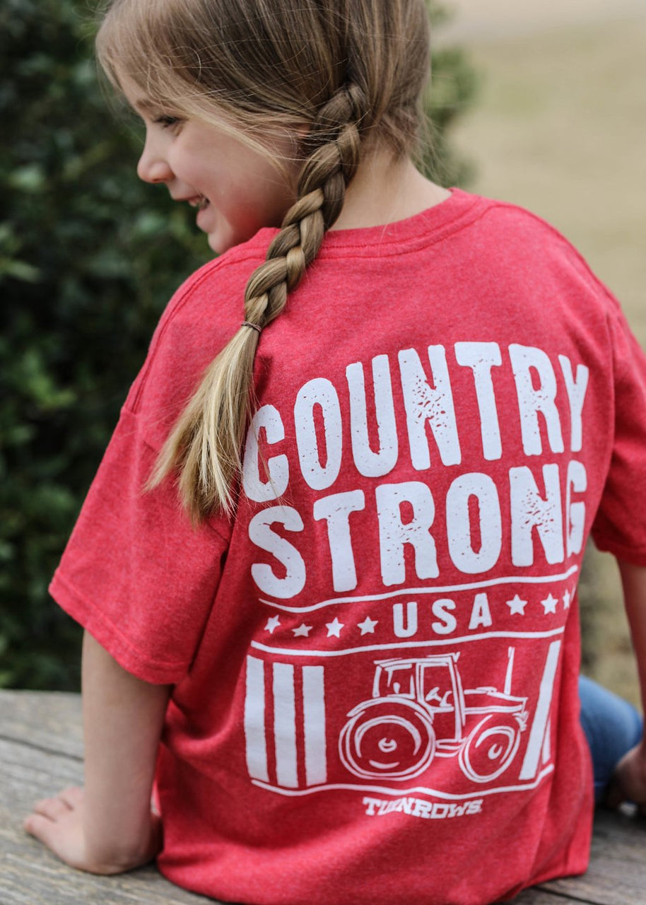 Country Strong Short Sleeve Tee