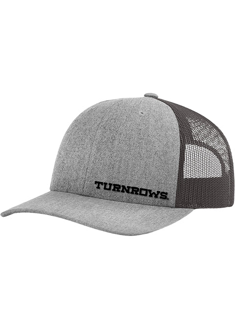 Turnrows Panel Embroidery Hat