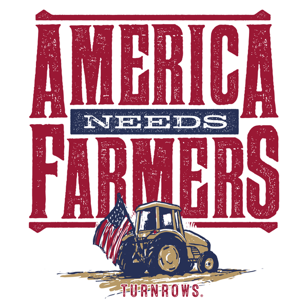 America Needs Farmers sticker