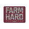 Farm Hard  Camo Sticker