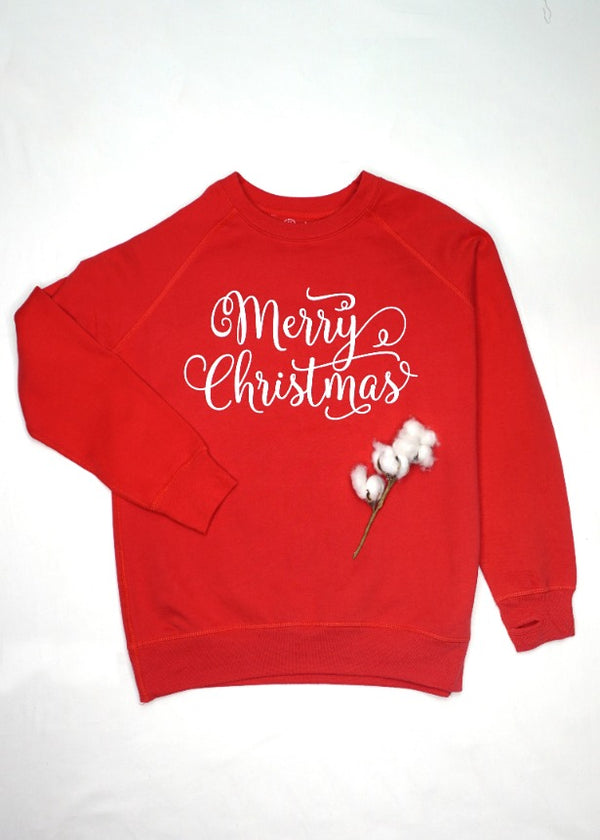 Turnrows Merry Christmas Sweatshirt