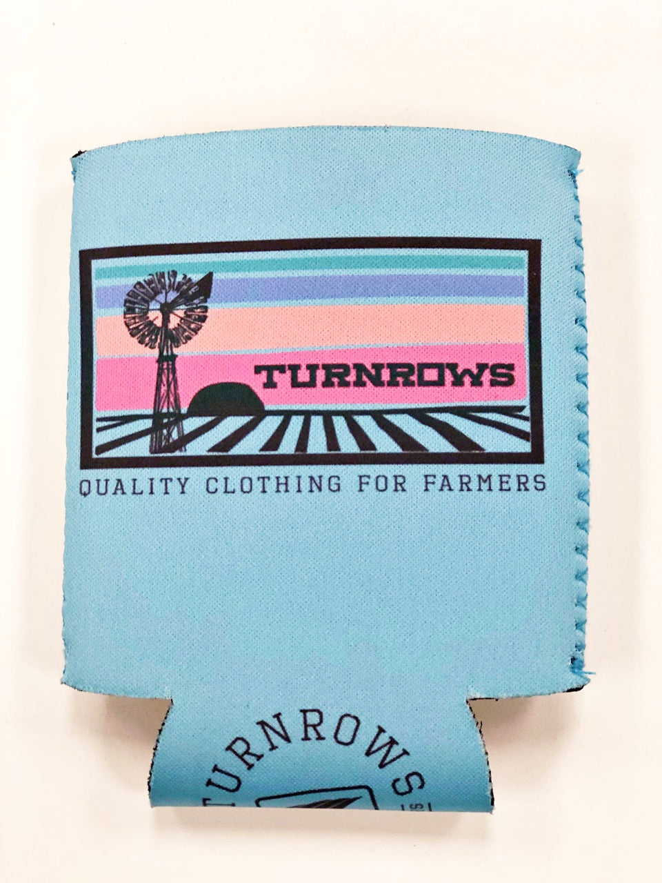 Sunset Windmill Koozie