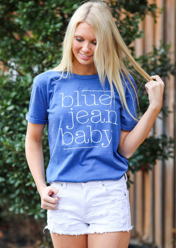 Blue Jean Baby Vintage washed tee