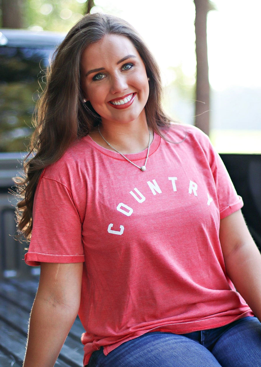 Country Vintage Washed Tee