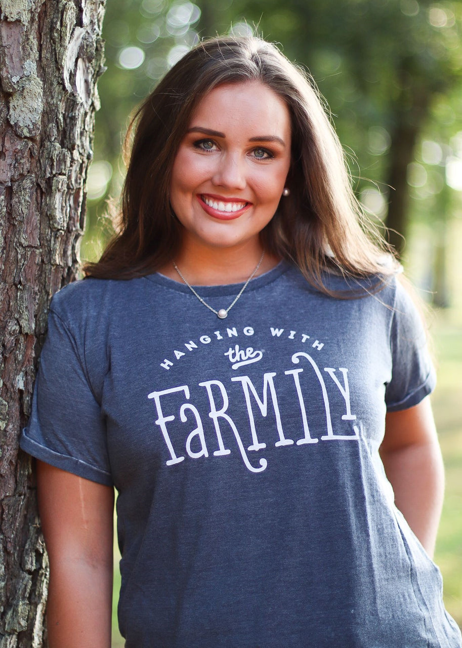 Farmily Vintage Washed Tee