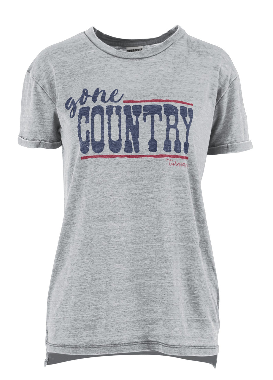 Gone Country Vintage Washed Tee