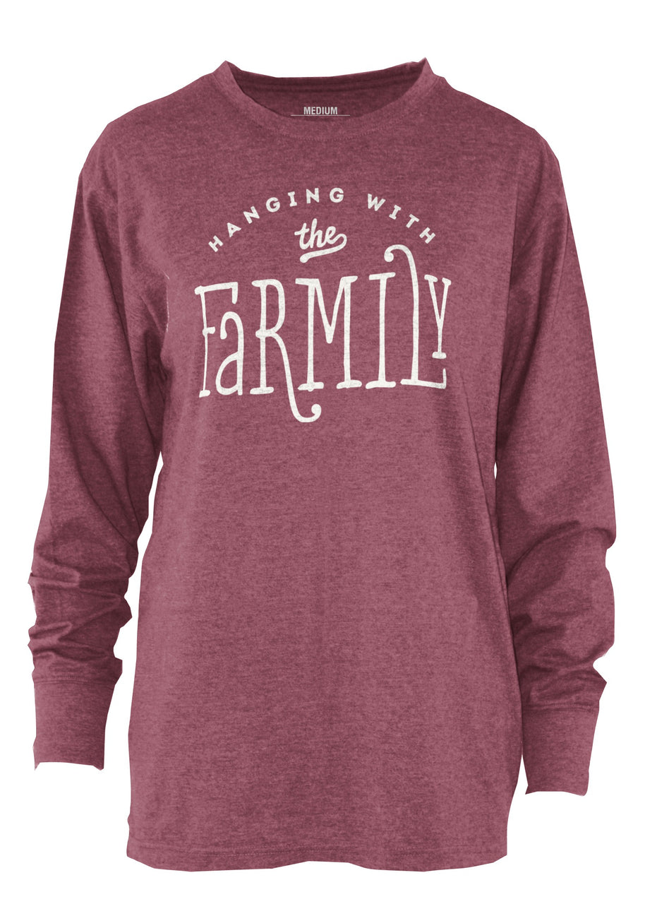 FARMily Long Sleeve Melange Tee