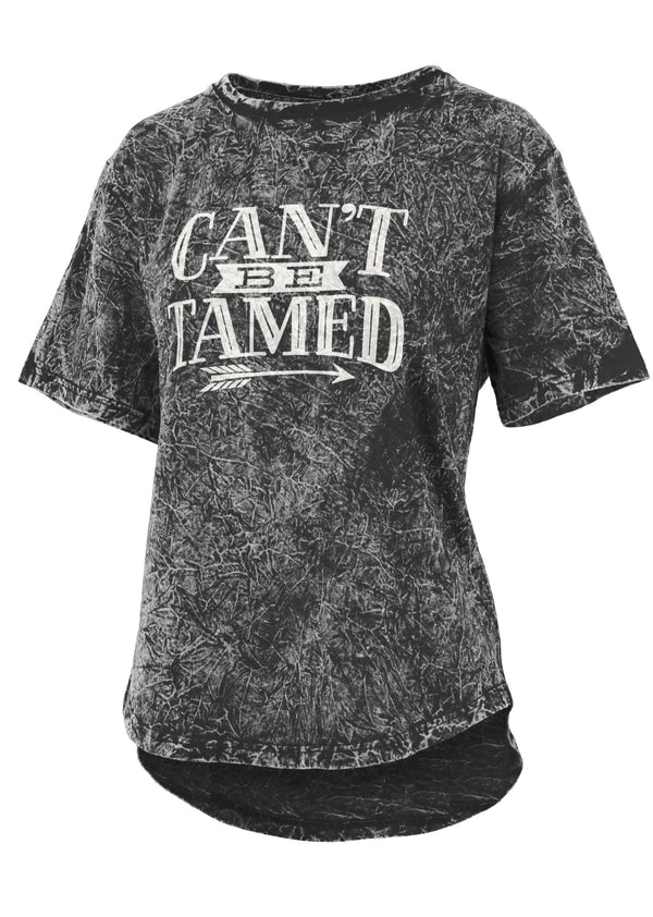 Can't Be Tamed Mineral Wash Tee
