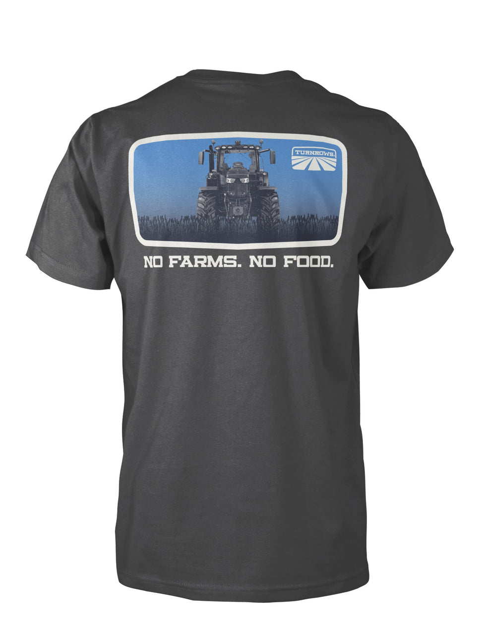 No Farms No Food Pocked Tee