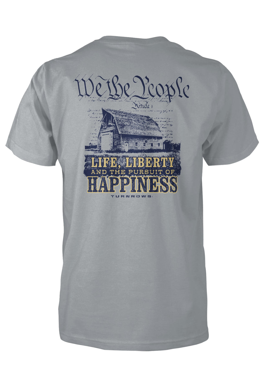 We The People Pocketed Tee