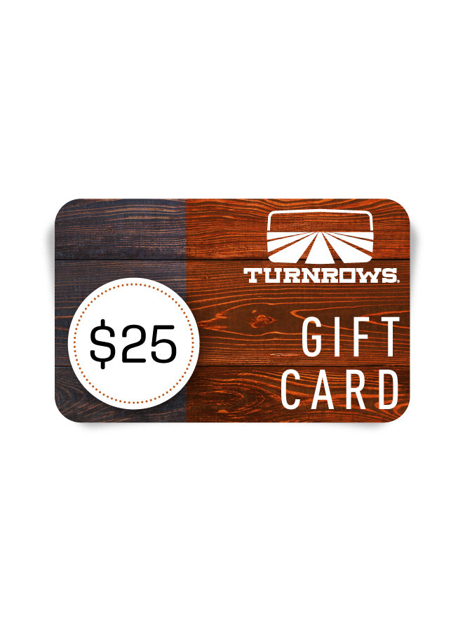 Gift Card for Turnrows.com