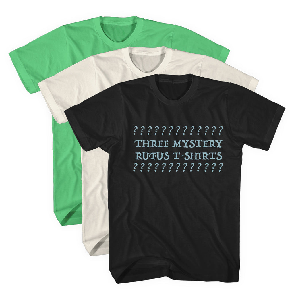 'Vintage Rufus' Mystery T-Shirts Bundle - NEW SHIRTS ADDED!