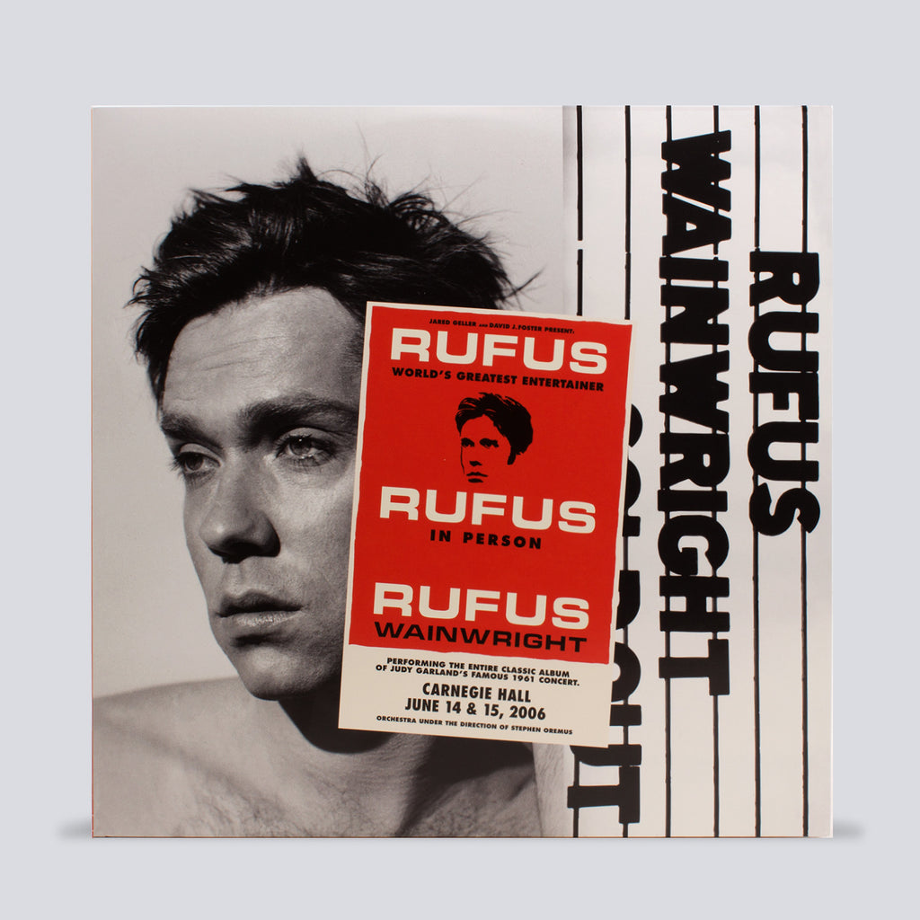 REMASTERED 'Rufus Does Judy' 3X Vinyl LP