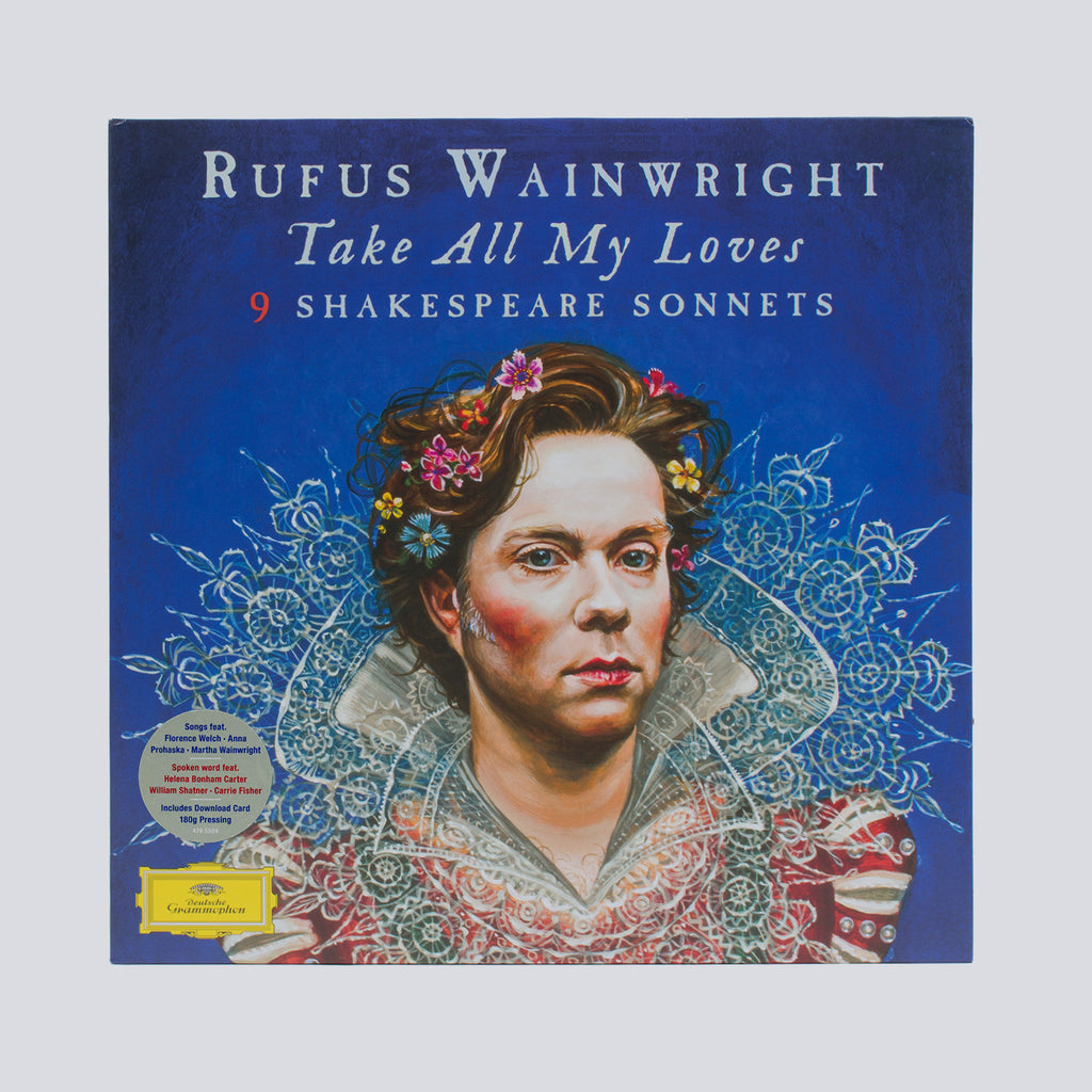 'Take All My Loves' 9 Shakespeare Sonnets 2X Vinyl