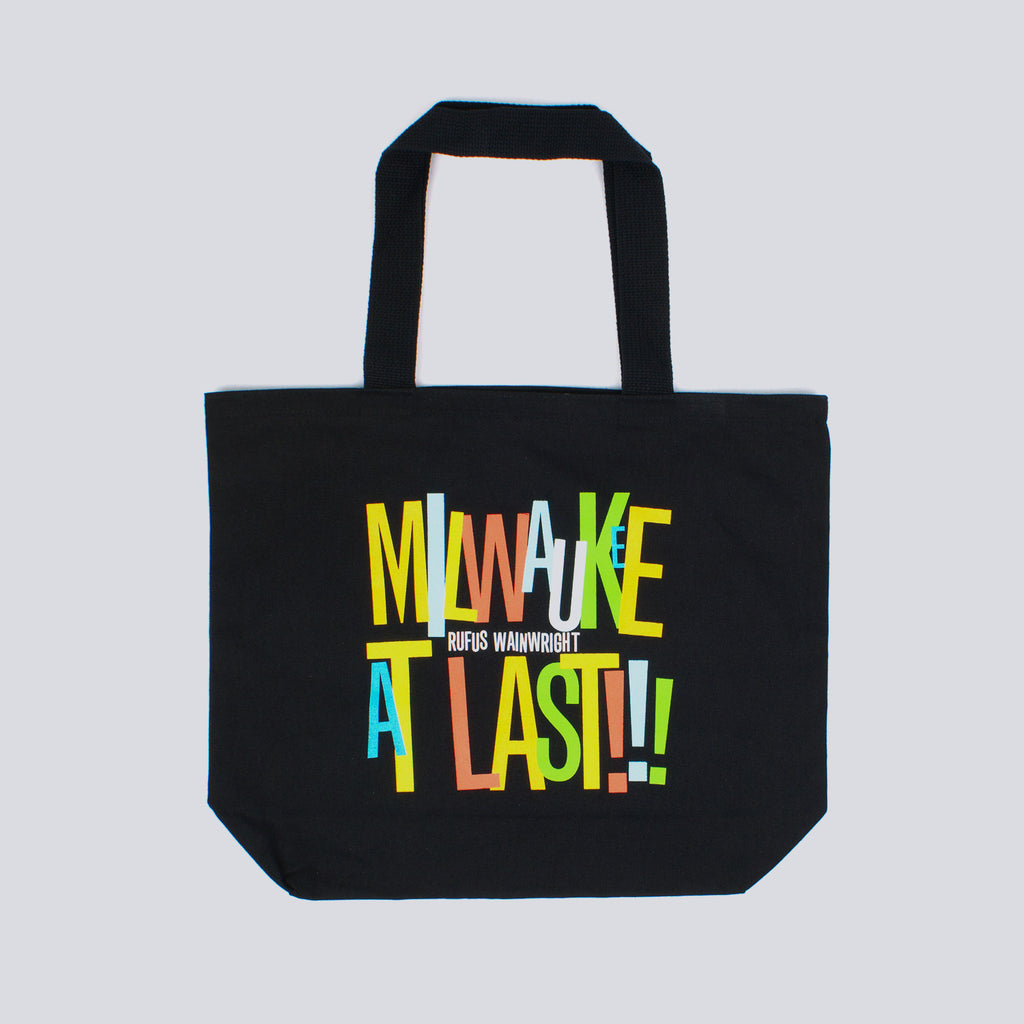 'Milwaukee At Last' Black Tote