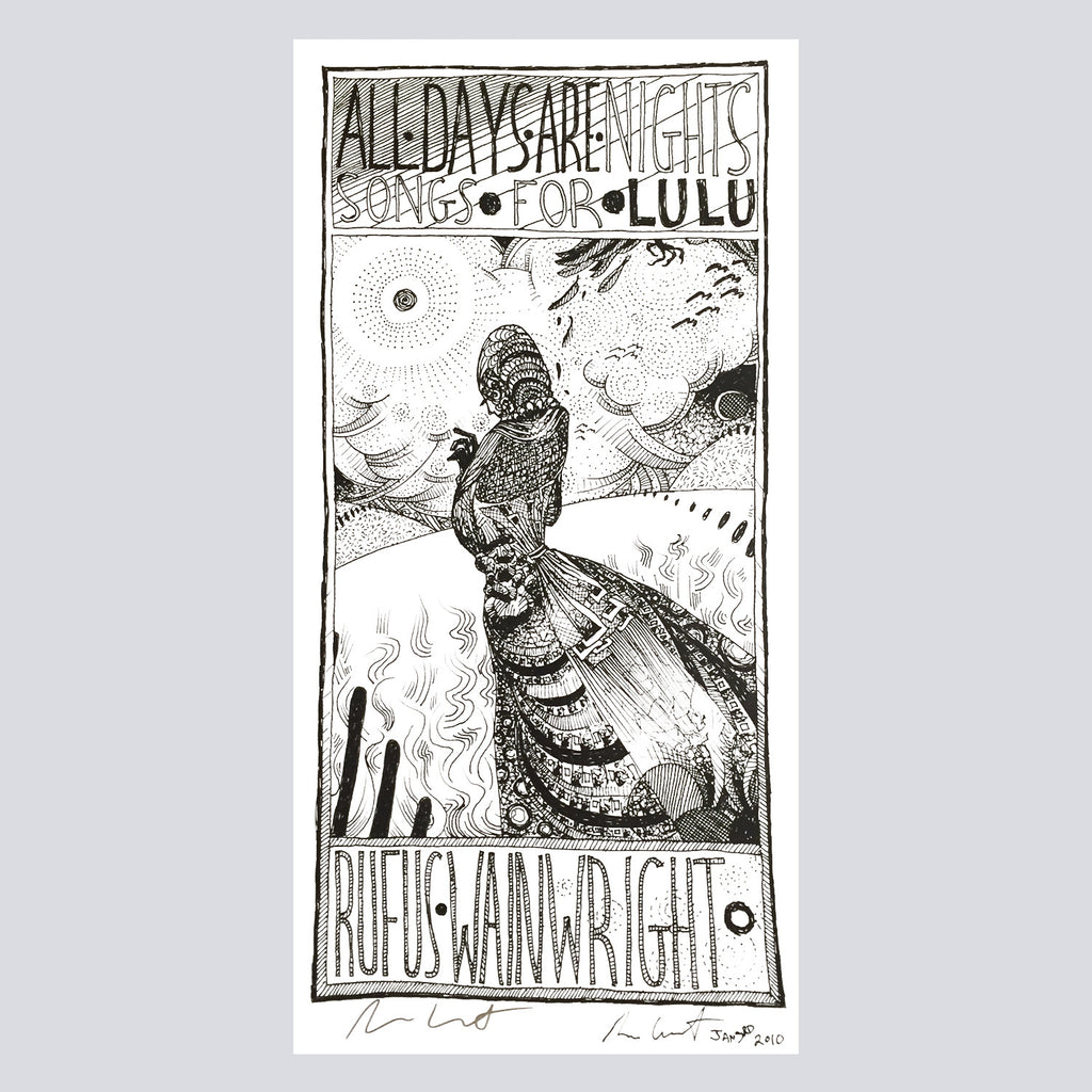 'All Days Are Nights' Signed Poster