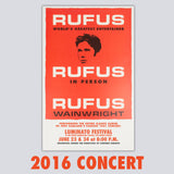 'Rufus Does Judy' 2016 Toronto Poster